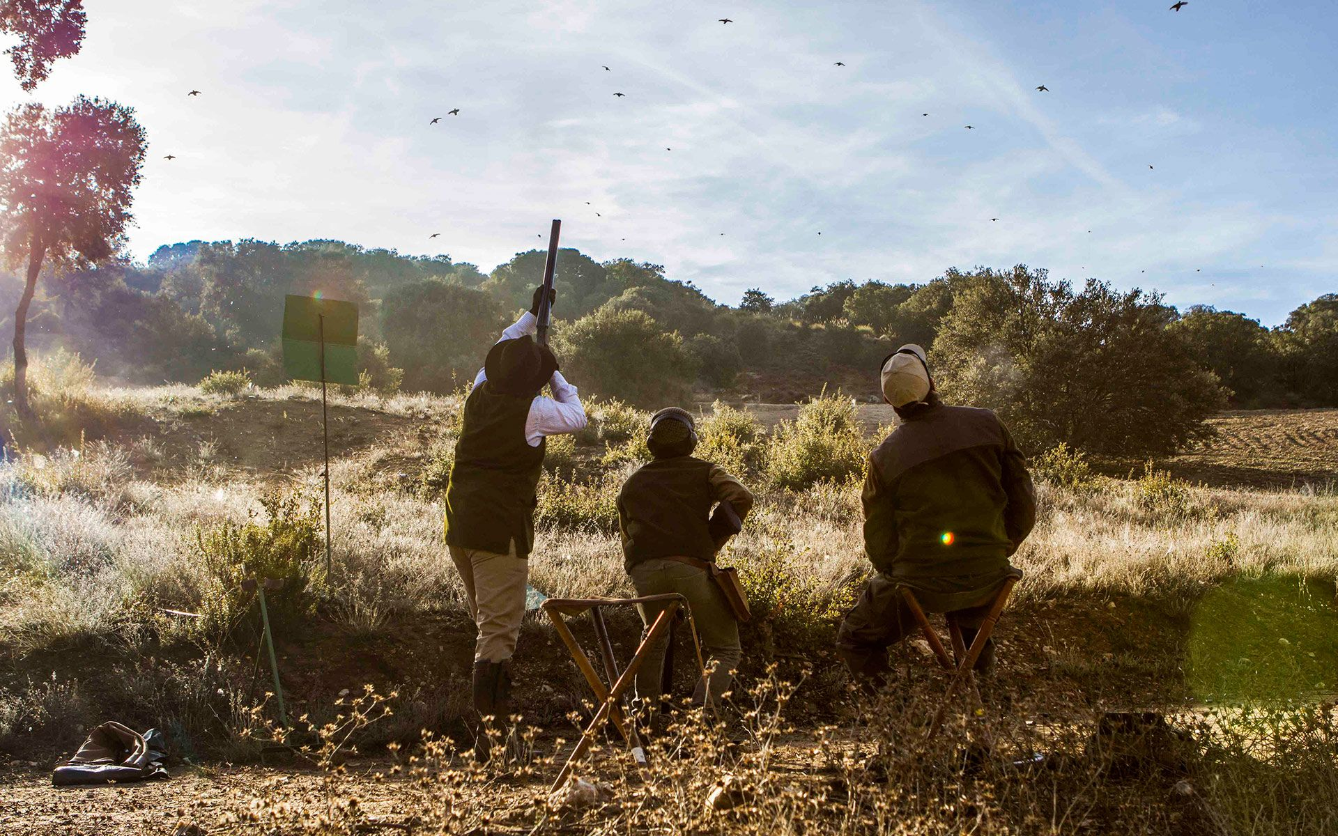 40 years organizing partridge shoots in Spain